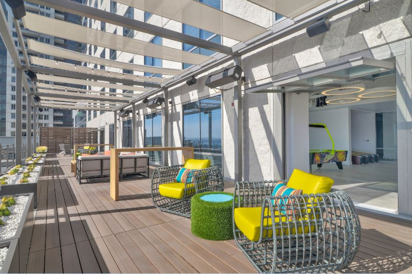rooftop corporate events - deck655 San Diego